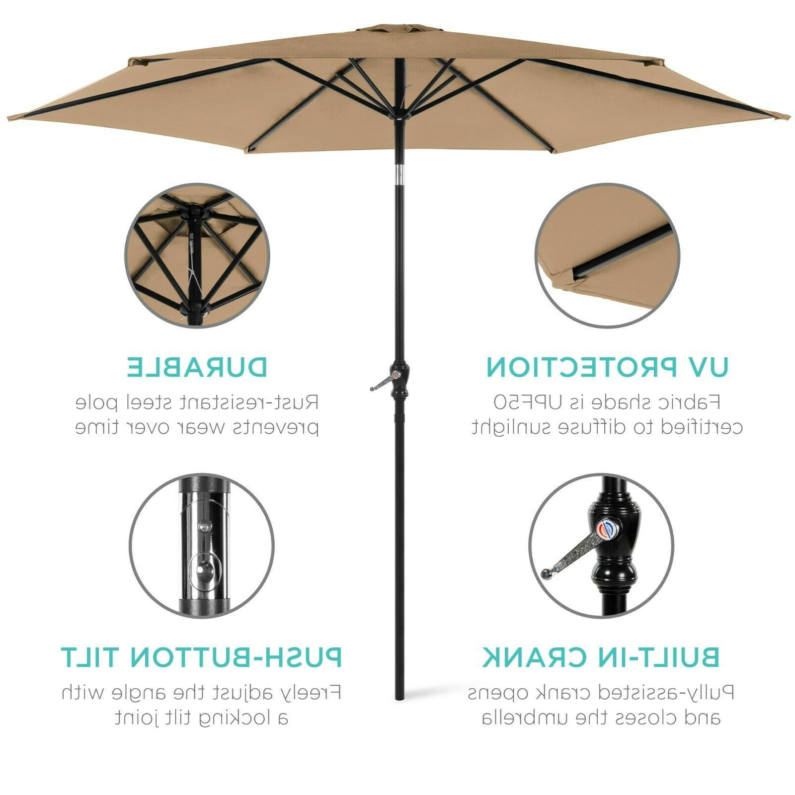 Patio Best Choice Products 10 foot Outdoor