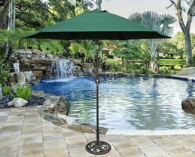 New 9 ft Bronze Aluminum Market with Cover