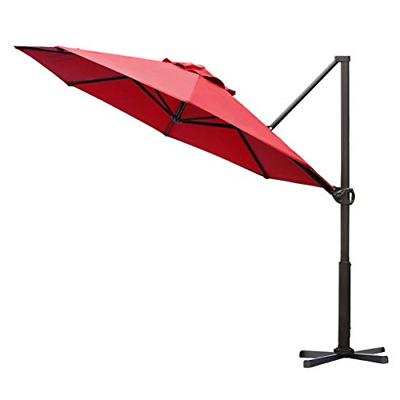 offset cantilever umbrella 11 feet outdoor patio