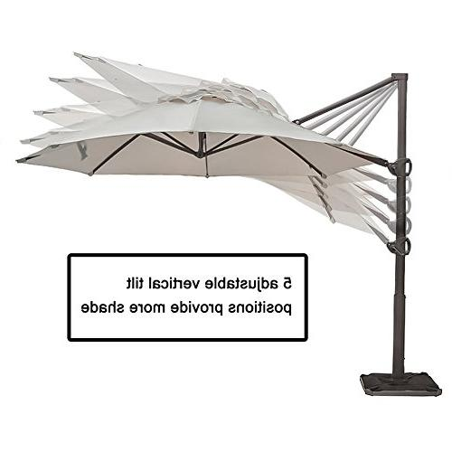 Abba Patio Umbrella 11-Feet Outdoor Hanging Umbrella Base,