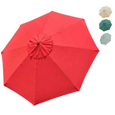 outdoor umbrella canopy replacement top cover