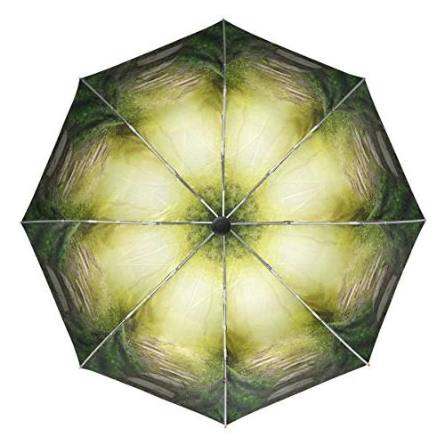 Aideess Copy Space Dreamy Forest UV Lightweight Parasol Elegant Special for &