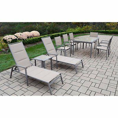 Aluminum Patio Chaise with