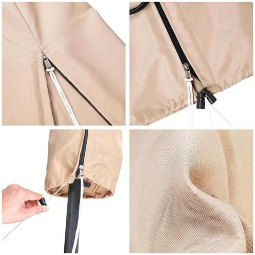 Patio Beach Canopy Cover Bag Fit 9' 10' 13'