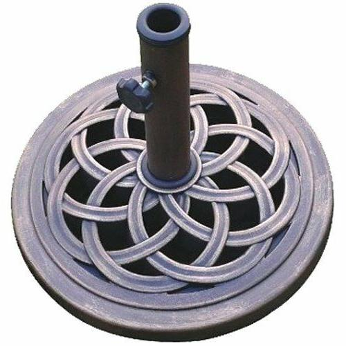 patio umbrella base stand weight outdoor offset