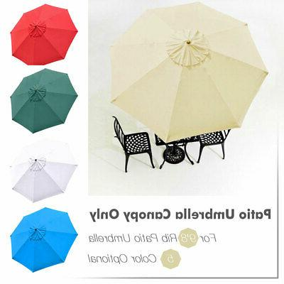 Patio Canopy Top Cover Replacement Umbrella 13'
