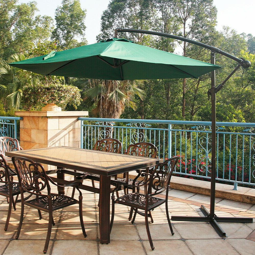 BALI OUTDOORS Patio Offset Polyester