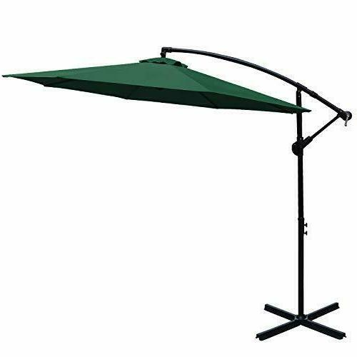 patio umbrellas 10 ft cantilever umbrella offset