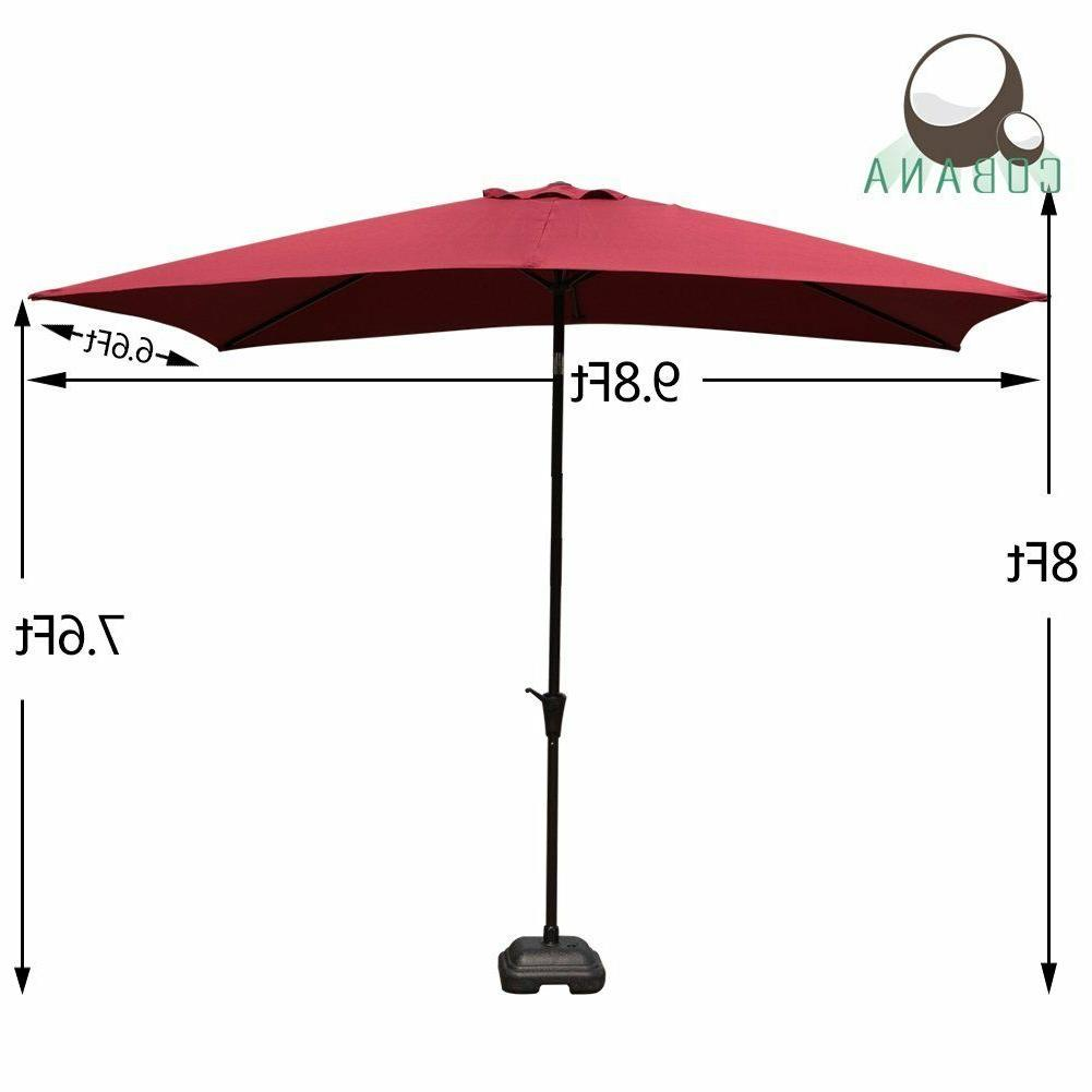 COBANA Umbrella Push Button Burgundy