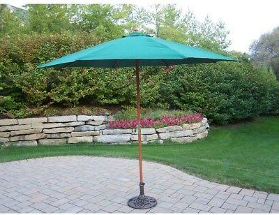 9' Rochester Market Umbrella - Color: With Stand: Yes, Pulley