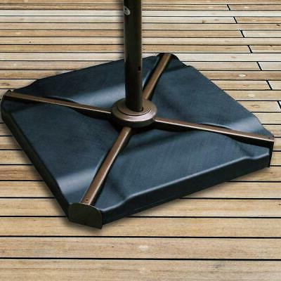 SALE Patio Cantilever Offset Umbrella Base Plate Set, Pack of 4,