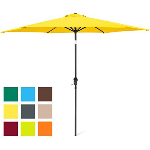 steel market patio umbrella w
