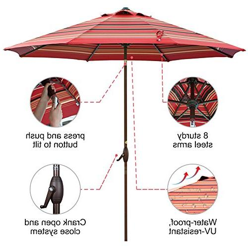 Abba Umbrella with and