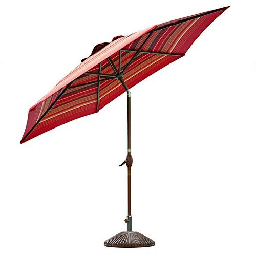 Abba 11-Feet Umbrella Outdoor with and