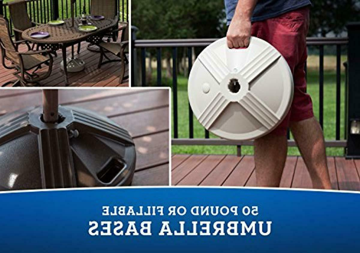 US Weight Umbrella be with Patio Table