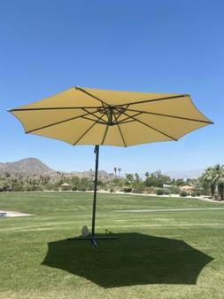 New! Outdoor Patio Offset Cantilever Umbrella 10 FT Various