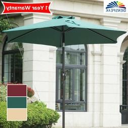 Outdoor 7.5 ft.Patio Umbrella Garden Market Beach Sun Shade