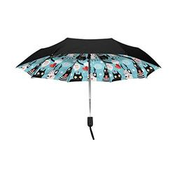 Aideess Outer Black Umbrella Bright Cat Lovers UV Anti Light
