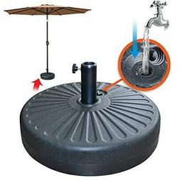 """Patio Umbrella Base Sand Water Filled 20"""" 28L Parasol Weight"""