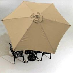 9' Patio Umbrella Cover 6 Rib Deck Outdoor Sunshade Canopy G