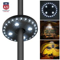 Patio Umbrella Light Cordless 28 LEDs Outdoor Lights with 3