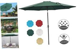 Patio Watcher 11-Ft Patio Umbrella Outdoor Umbrella with 11