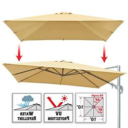 BenefitUSA Replacement Canopy for 10'x10' ROME Cantilever Pa