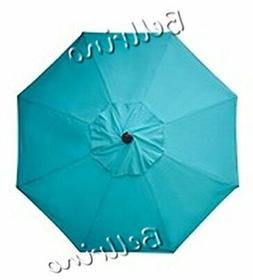 BELLRINO DECOR Replacement Lake Blue Strong & Thick Umbr