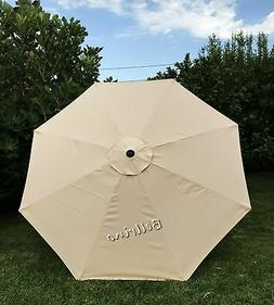 BELLRINO DECOR Replacement Taupe Strong and Thick Umbrella C