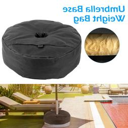 Round Weight Sand Bag for Outdoor Umbrella Base Stand Patio