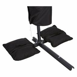 saddlebag style sand weight bag for anchoring