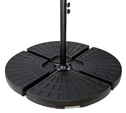 4-piece set cantilever umbrella base water weights for offse
