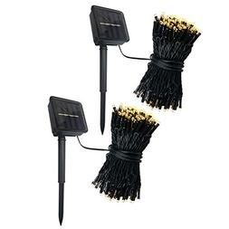 Abba Patio Solar String Lights, 72ft 200LED Outdoor String L