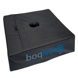 "Gravipod 18""x18"" Square Umbrella Base Weight Bag-Up to 110#."
