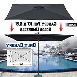 BenefitUSA Top Cover Replacement Umbrella Canopy for 10ft x
