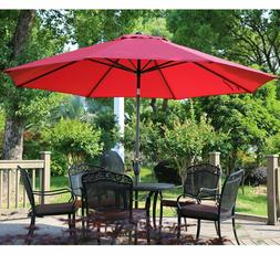 Abba Patio 11-Feet Patio Umbrella with Push Button Tilt and