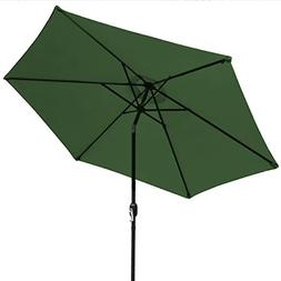 Sorbus Outdoor Umbrella, 10 ft Patio Umbrella with Tilt Adju