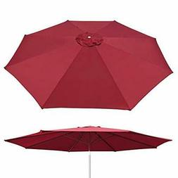 Umbrella Cover Canopy 10ft 8 Rib Patio Replacement Top Outdo